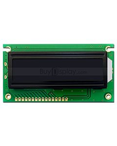 3.3V/5V 16x2 1602 Character LCD Module,White on Black,High Contrast