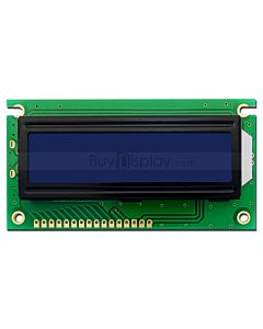 Character lcd 2x16 Blue Display Module HD44780 White on Blue