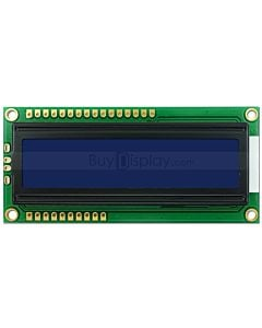 LCD Arduino 16x2 display SPI Character Module,ST7070,White on Blue