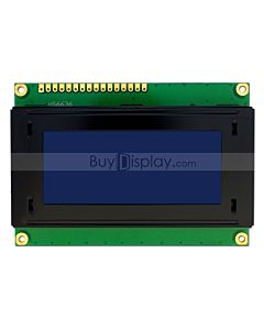 3.3V or 5V Blue LCD 16x4 Arduino Library Character Display Module