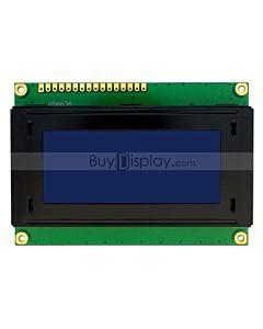 LCD1604/16x4单色字符型LCD液晶显示模块/模组/蓝底白字