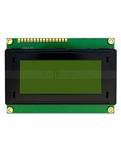 LCD1604/16x4单色字符型LCD液晶显示模块/模组/黄绿底蓝黑字