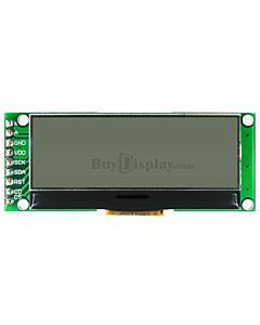 2 inch White 192x64 Graphic LCD Display Module,UC1609,SPI for Arduino
