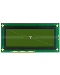 4寸LCD19264液晶屏/LCM192x64图形点阵液晶模块/黄绿底蓝黑字