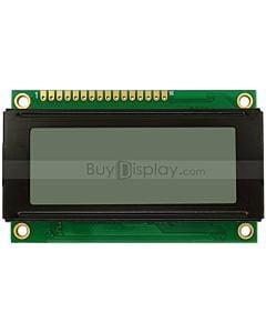 2004单色字符型LCD液晶显示模块/20x4模组/白底黑字/小尺寸