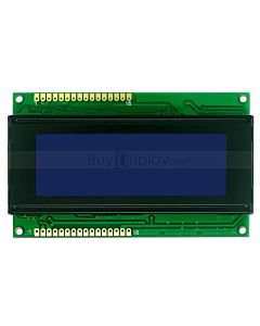 3.3V or 5V Blue LCD 20x4 Arduino Library Character Display Module