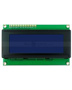 3.3V or 5V Blue LCD Bezel 20x4 Arduino Library Character Display Module