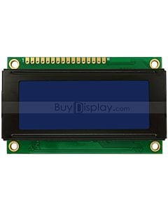 Small Size Blue LCD Bezel 20x4 Arduino Library Character Display Module