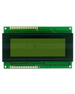 LCD2004/20x4单色字符型LCD液晶显示模块/模组/黄绿底蓝黑字