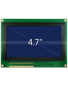 Blue LCD 240x128 TouchScreen Graphic Module Display RA6963 Controller