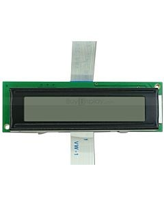 Character 8x1 LCD Display Module,HD44780 Controller,Black on White