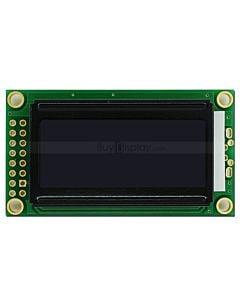 LCD802/8x2单色字符型LCD液晶显示模块/模组/黑底白字
