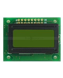 8x2 LCD Character Displays Module,HD44780 with Arduino and Datasheet