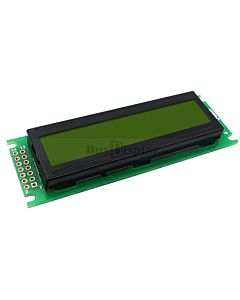 Low-Cost 1602 16x2 Charcter LCD Display Module Yellow Black Color