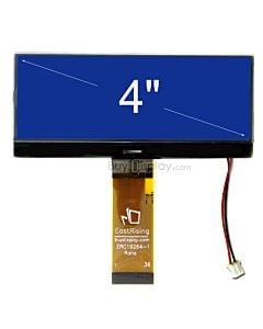 超薄4.3寸LCD19264液晶屏/192x64图形点阵COG模块/蓝底白字/中文字库