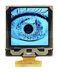 白色1.5寸OLED显示屏/128x128点阵/IIC/SPI/Parallel/SSD1327