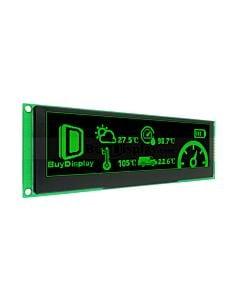绿色5.5寸OLED显示屏/显示模块/25664/256x64点阵配转接板