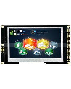 4.3寸TFT全视角彩色液晶显示屏配SSD1963控制板/并口/可配触摸屏