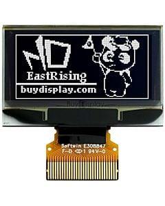 1.3寸白色OLED显示屏/显示模块/12864/128x64点阵/并串口