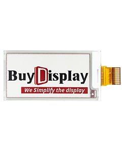 2.6英寸电子墨水屏152x296分辨率白底红字SSD1675A