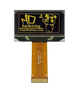 黄色1.5寸OLED显示屏/显示模块/12864/128x64点阵/并串口