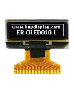白色1寸OLED显示屏/显示模块/12832/128x32点阵/并串口