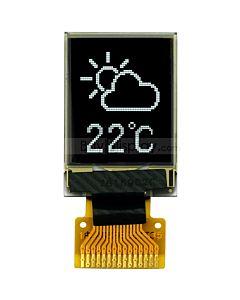 白色0.71寸OLED显示屏/显示模块/48x64点阵/SPI串口