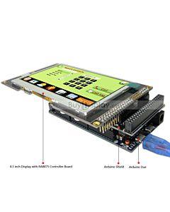 4.3寸TFT LCD彩色液晶显示模块/带RA8875控制板/Arduino开发板/Mega/Due/Uno
