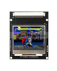2寸TFT LCD彩色液晶显示模块/320x240点阵彩屏模组带转接板
