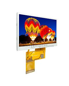 Sunlight Readable 4.3 inch High Brightness 480x272 TFT LCD Display