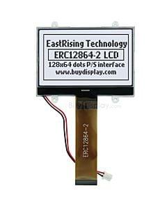 超薄2.6寸LCD12864液晶屏/128x64图形点阵COG液晶模块/白底黑字