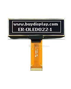白色2.2寸OLED显示屏/显示模块/12832/128x32点阵/并串口