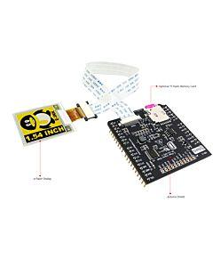 1.54英寸黑黄白电子墨水屏/配套Arduino转接板/200x200分辨率/SSD1681