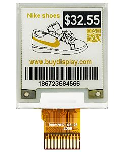 Yellow 1.54 inch SPI e-Paper 200x200 Smallest E-Ink Display Panel SPI