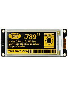 ARDUINO/树莓派2.9英寸电子墨水屏白底黄字带控制器SSD1675A