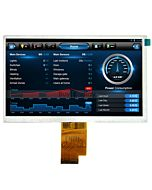 Color 7 inch 1024x600 TFT LCD Panel Optional Touchscreen AT070TNA2