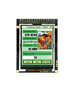 2.8寸TFT LCD彩色液晶显示模块/240x320点阵彩屏模组带转接板