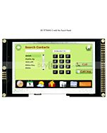 4.3寸TFT LCD彩色液晶显示屏配RA8875控制板/并串口/可配触摸屏