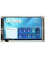 5寸TFT彩色液晶模块/带RA8875控制板/配电容式触摸屏/480x272