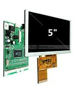 5 inch LCD Screen TFT Module,800X480 VGA Video AV Driver Board