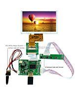5寸TFT LCD彩色液晶显示模块配迷你HDMI驱动板/800x480分辨率