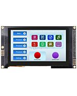 4.3 inch IPS TFT Capacitive Touchscreen 800x480 w/SSD1963 Controller