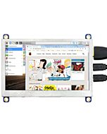 Low Cost 4.3 inch TFT Display Raspberry Pi w/USB Touch Panel 480x272