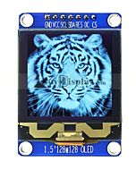 128x128 Grayscale OLED Module Display SPI I2C Yellow 1.5 inch Arduino,Raspberry Pi