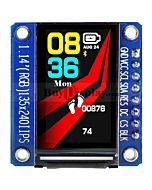 1.14 inch TFT IPS LCD Display Module 135x240 SPI for Arduino Raspberry Pi