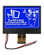 2.7 inch Blue SPI COG 128x64 ST7565 LCD Display EMC and ESD protection