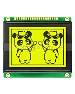 2.6 inch LCD 128x64 ST7920 SPI Graphic Module Display wDatasheet,Tutorial