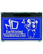 2.8 inch Graphical 128x64 Display Serial Module SPI LCD,White on Blue