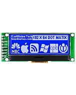 2 inch Blue 192x64 Graphic LCD Display Module,UC1609,SPI for Arduino