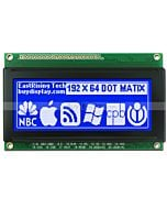 3.3 inch Display 192x64 19264 LCD Monochrome Module,White on Blue